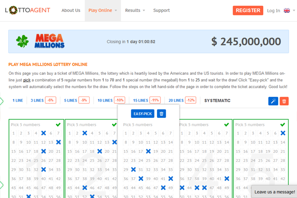 Lotto Agent screen shot
